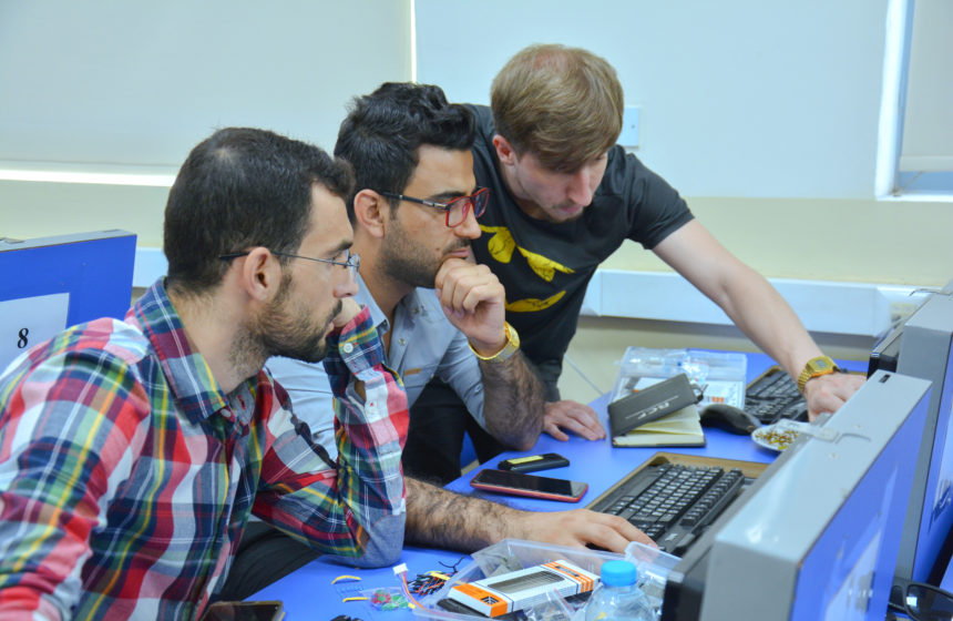 The world is heading toward robotics, and the participants in Madad Lab II had their start in robotics workshops in Iraq.